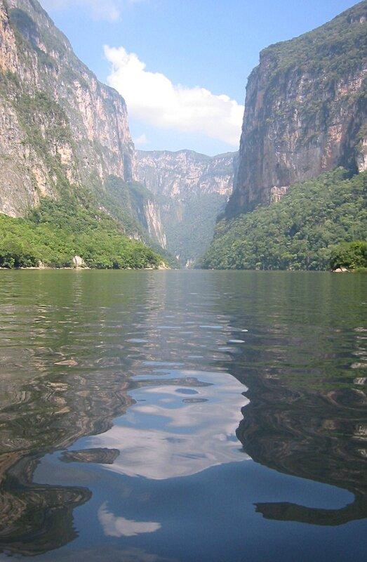 1989-Chiapas-Canon del Sumideiro