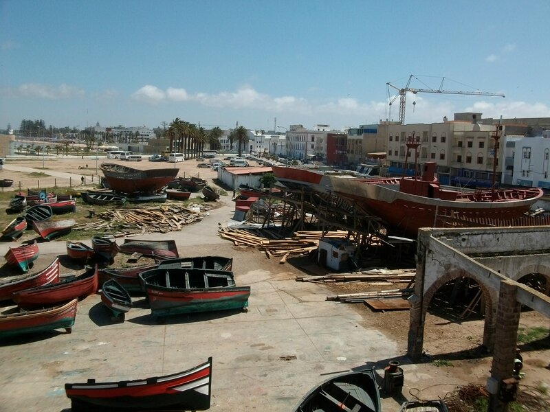 Al Jadida, port