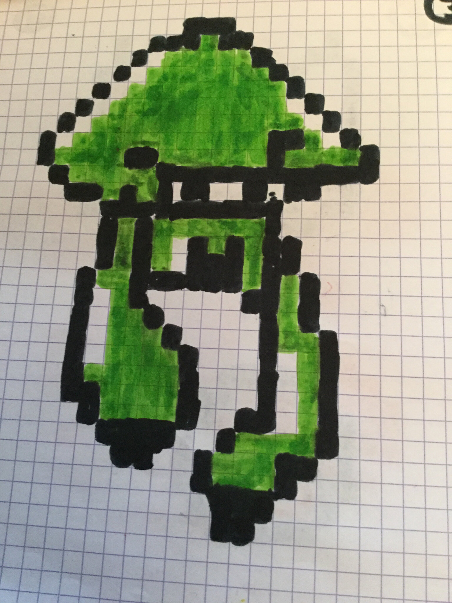 Calamar Splatoon Pixel Art