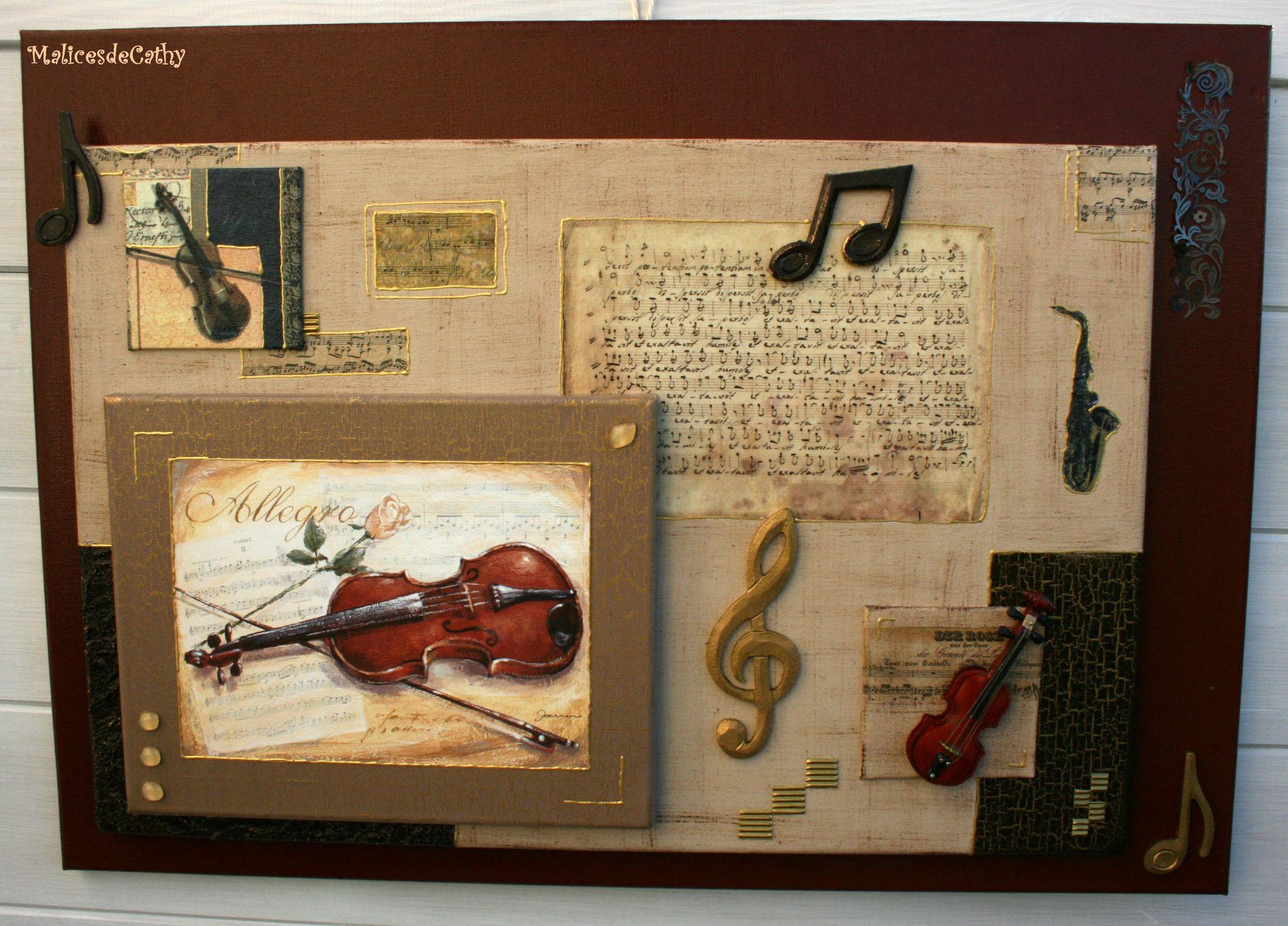 tableau violon
