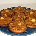 Tartelettes aux pommes et au caramel au beurre sallé.