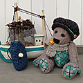 Petit ours marin à l'ancienne