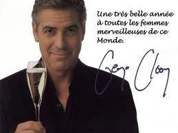 bonne année G;Clooney
