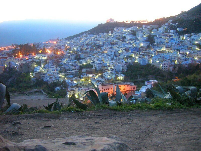 Chaouen by night