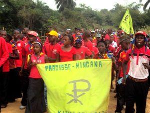 Jeunes Mingana aux JDJ à Wamaza