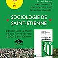 Rencontre autour du livre sociologie de saint-etienne - editions la découverte