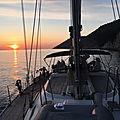 De marina agana (marina) à vela garska (hvar) - vendredi 20 mars 2020 - training cruise, from marina agana to vela garska