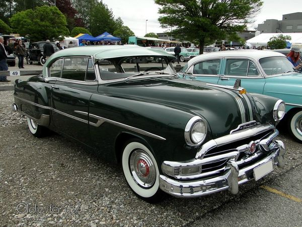 pontiac chieftain deluxe catalina hardtop coupe 1953 a