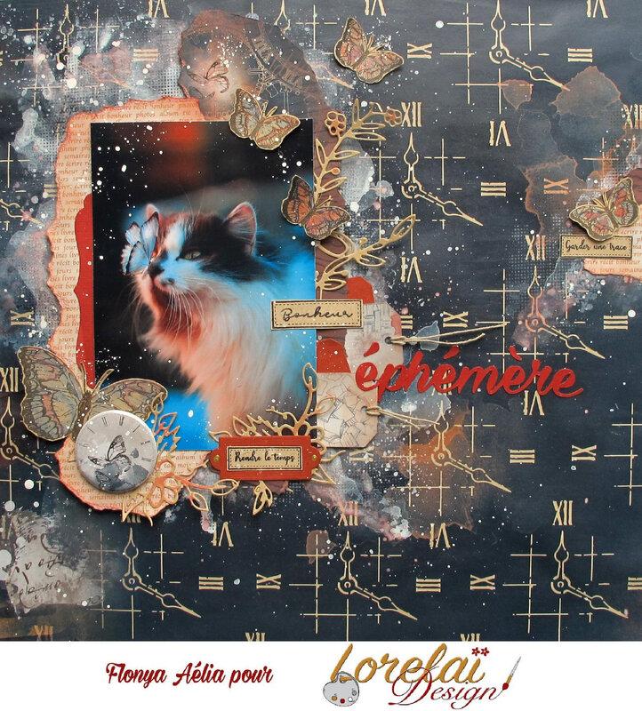 Lorelaï - Bonheur éphémère 12x12