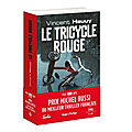 Le tricycle rouge de vincent hauuy