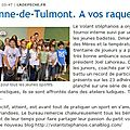 Tournoi interne mai 2011