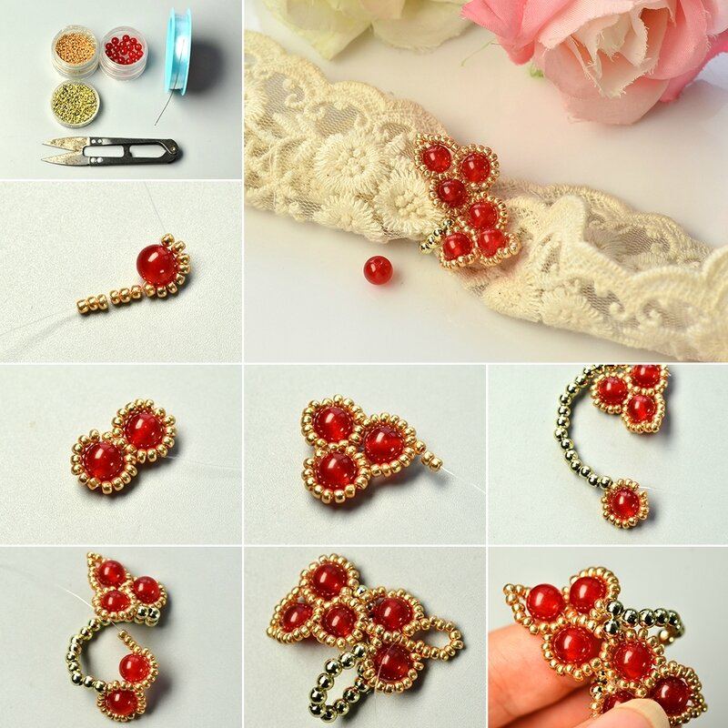 1080-PandaHall-Tutorial-on-Making-a-Beaded-Ring-with-Jade-Beads-and-Seed-Beads