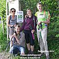 Trailwalker oxfam 2015....on prend les mêmes et on recommence !!!