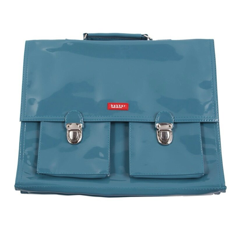 Cartable bleu BAKKER