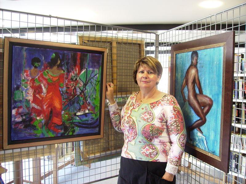 Tableaux Martine Fouillet (2007)