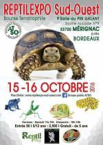 Affiche Reptilexpo Sud-Ouest 2016 Mérignac