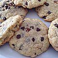 Cookies à la halwa chamia et au pépite de chocolat