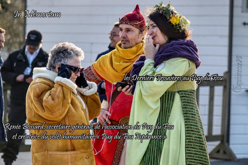 Jeanne d'Arc - Renée Bossard association du Puy du Fou - Les Derniers Trouvères