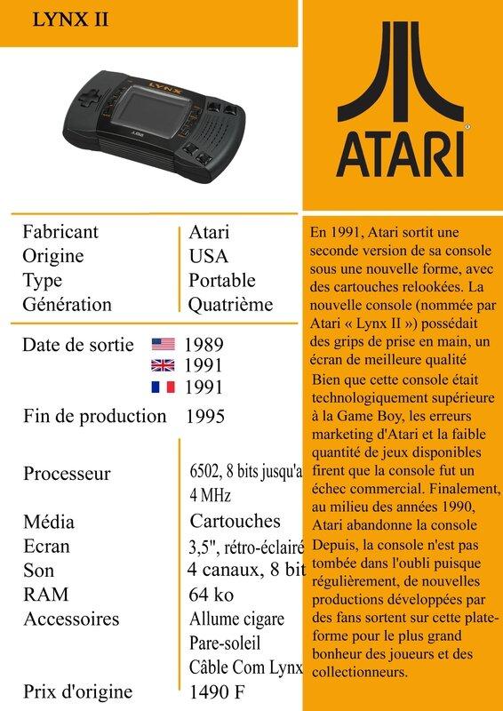 1991-Atari Lynx II