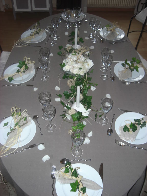 Tr s nature clkilaf e for Deco de table nature