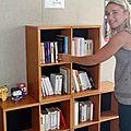 Des livres de lecteurs à la bibliothèque de plage