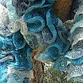 echarpe volants turquoise1