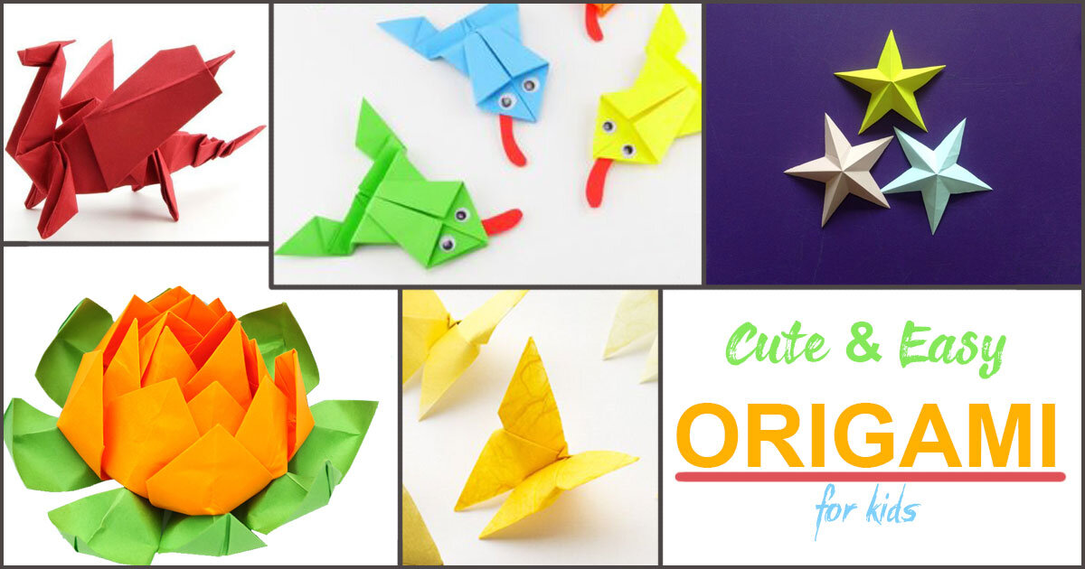 Easy Origami Whale - Paper Crafts for Kids - Red Ted Art - Make ... | 630x1200