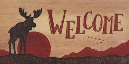 Moose Welcome by Becca Barton