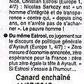Canard enchaîné du 11/07/2012