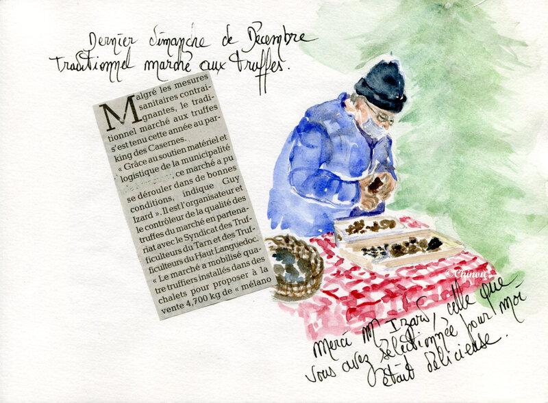Marché aux truffes blog