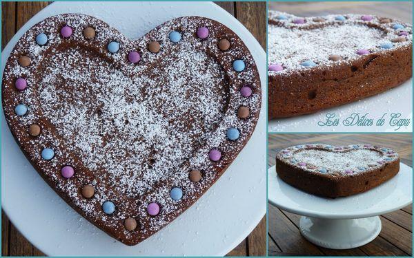 Gâteau à la ricotta, chocolat et noisette1