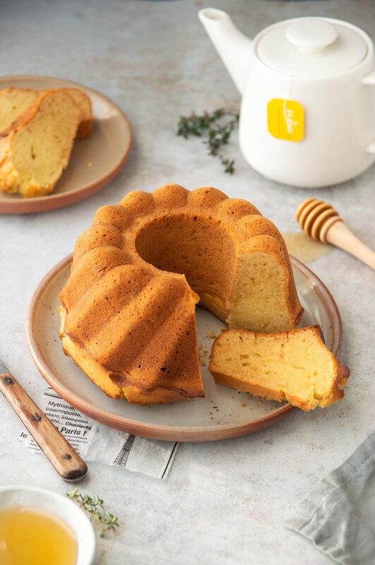 gâteau au miel sans lactose - défi 30 jours goûters maison