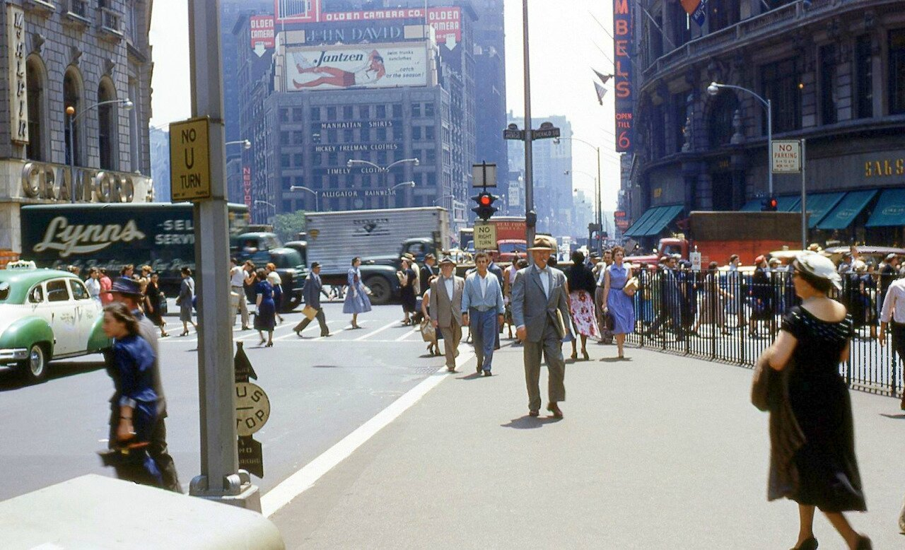 New York City Herald Square 1950