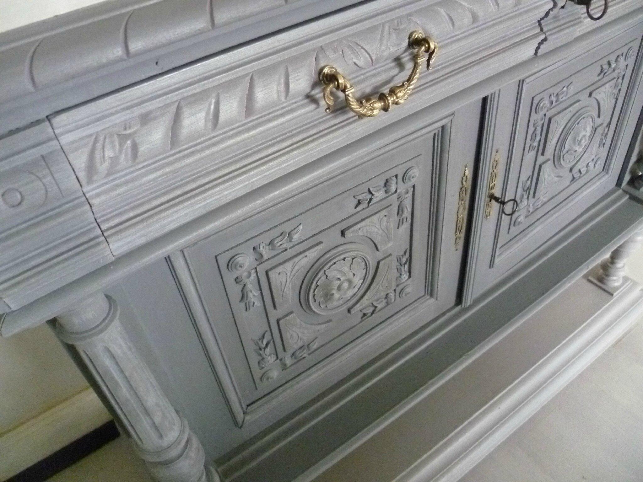 meuble henri ii relook strasbourg colmar mulhouse salle manger henri ii relook customis. Black Bedroom Furniture Sets. Home Design Ideas