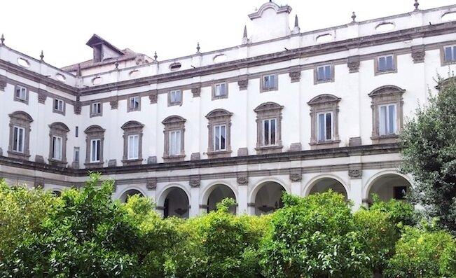 NAPLES pinacoteca girolamini