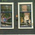 Façade guitare - amsterdam - pays-bas - mai 2006