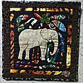 Saga africa : le zebre et l'éléphant