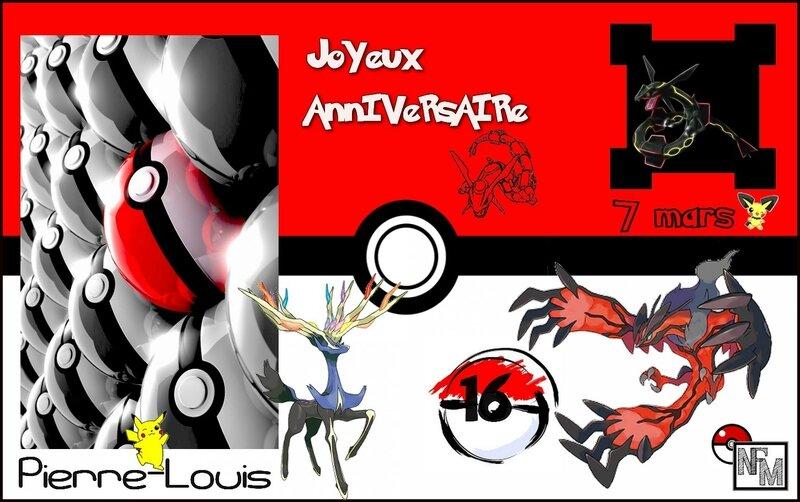 Carte Anniv PLouis 16 ans 2017