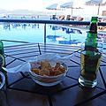 grece lefkas terrasse de l'adriatica