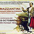 Mazzantini, un personnage hors du commun ?