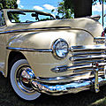 Rock 'n' wheels #4: sweet yellow '46 plymouth convertible