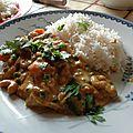 Curry massala de légumes au lait de coco