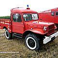 La dodge wc 51 sapeurs pompier (5ème fête autorétro étang d' ohnenheim)