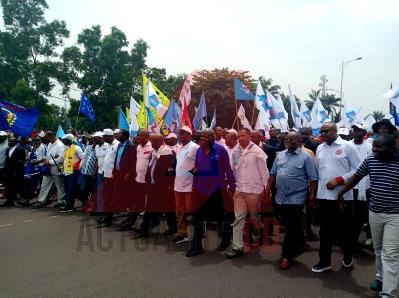 leaders opposition à la marche du 261018
