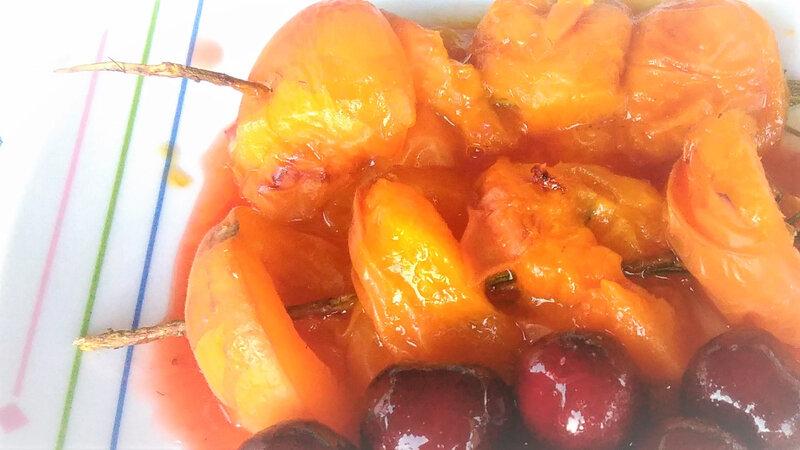 brochette abricots ramarin