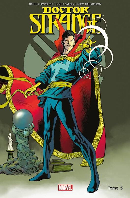 100% marvel docteur strange 05 secret empire