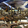 Paul nash, peintre officiel britannique de la grande guerre