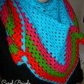 Half granny multicolore 3