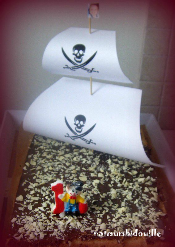 gateau pirate