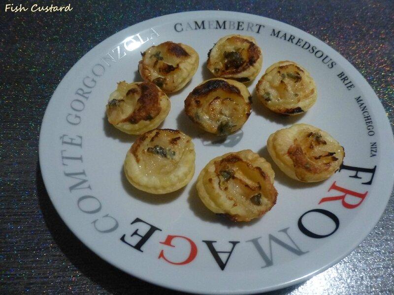 Tartelettes poire-bleu (2)